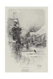 The Two Corbies Giclee Print by Herbert Railton
