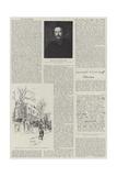 William Morris Giclee Print by Herbert Railton