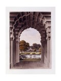 An Architectural Design with Garden, 1821-1822 Giclee Print by Humphry Repton