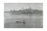 Nocturne: the River at Battersea, 1878 Gicléedruk van James Abbott McNeill Whistler