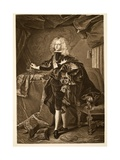 Philip V King of Spain C.1700, Pub. 1902 Giclee Print by Hyacinthe Rigaud