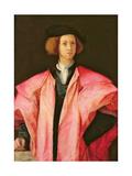 Portrait of a Young Man Giclée-tryk af Jacopo Pontormo