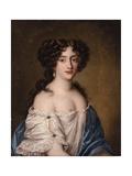 Portrait of Ortensia Mancini as Aphrodite Giclée-Druck von Jacob Ferdinand Voet