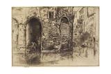 Two Doorways from The Second Venice Set, 1879-1880 Gicléedruk van James Abbott McNeill Whistler