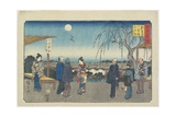 Jewel River of Koya in Kii Province, December 1863 Giclee Print by Hiroshige II
