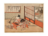 Kisaragi Giclee Print by Isoda Koryusai