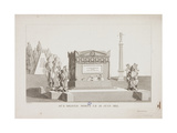 The Brave Dead of the 18 June 1815, 1815 Giclee Print by Hippolyte Lecomte