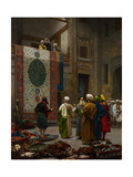 The Carpet Merchant, C.1887 Reproduction procédé giclée par Jean Leon Gerome
