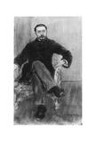 Gustave Geffroy, 1884 Giclee Print by Jean Francois Raffaelli