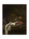 Still Life: the Kitchen Table, C.1755-56 Giclee Print by Jean-Baptiste Simeon Chardin