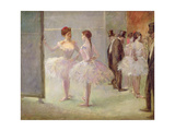 Dancers in the Wings at the Opera, C.1900 Lámina giclée por Jean Louis Forain