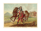 Battle of Marengo, Italy, 1800 Giclee Print by Jean-Baptiste Regnault