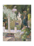 The Gardens at the Sorolla Family House, 1920 Giclée-Druck von Joaquin Sorolla y Bastida