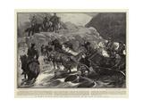 In Search of Miss Stone, the American Mission on the Road to Djuma-I-Bala Impressão giclée por John Charlton