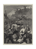 With the Turks at Shipka Giclee Print by John Dawson Watson