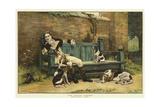 The Tender Passion Giclee-trykk av John Charles Dollman