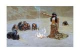 Study for 'The Unknown', 1912 Giclee-trykk av John Charles Dollman