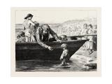 The Fisherman's Darling Giclee Print by John Dawson Watson
