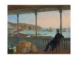 Valparaiso, 1841 Giclee Print by Johann Moritz Rugendas