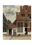 View of Houses in Delft, known as 'The Little Street', C.1658 Giclée-vedos tekijänä Johannes Vermeer