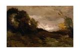 Vallee Solitaire, 1870-74 Reproduction procédé giclée par Jean-Baptiste-Camille Corot