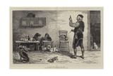 A Canine Aesculapius Giclee-trykk av John Charles Dollman