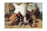 The Immigrants' Ship, 1884 Giclee-trykk av John Charles Dollman