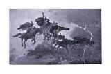 The Ride of the Valkyries Reproduction procédé giclée par John Charles Dollman