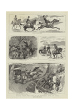 Scenes from the Life of an Officer's Wife in India Impressão giclée por John Charlton