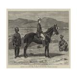 Lieutenant W R P Hamilton Giclee-trykk av John Charles Dollman