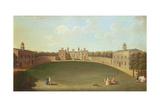 Morville Hall, Shropshire Giclee Print by John Inigo Richards