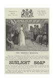 Advertisement, Sunlight Soap Giclee Print by John Henry Frederick Bacon