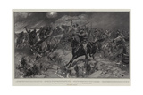 A Boer Cavalry Charge, the Fight at Brakenlaagte Impressão giclée por John Charlton