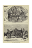 The War in Egypt Reproduction procédé giclée par John Charles Dollman