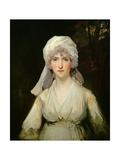 Portrait of a Lady Wearing a Turban, C.1795 Giclee Print by John Hoppner