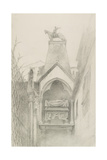 Study of the Tomb of Can Grande Della Scala at Verona, May - August 1869 Giclee Print by John Ruskin