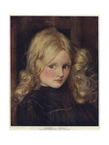 Cinderella, a Portrait Giclee Print by John Henry Frederick Bacon