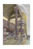 The Tomb of Frederick II in the Cathedral of Palermo Giclee Print by John Ruskin