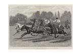 A Polo Pony Tandem Race at the Ranelagh Club Grounds Impressão giclée por John Charlton