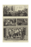 The Afghan War Giclee-trykk av John Charles Dollman