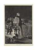 Santa Claus Giclee Print by John Robertson Reid