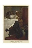 Baby's Breakfast Giclee-trykk av John Charles Dollman
