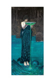 Circe Invidiosa, 1892 Giclée-tryk af John William Waterhouse
