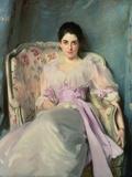 Lady Agnew of Lochnaw, C.1892-93 Giclée-tryk af John Singer Sargent