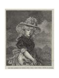 Her Royal Highness the Princess Sophia When a Child Giclee Print by John Hoppner