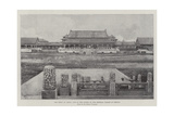The Crisis in China, One of the Courts of the Imperial Palace at Peking Giclee Print by Joseph Holland Tringham