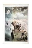 An Unexpected Blow, 1880 Giclée-tryk af Joseph Keppler