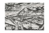 City of Pesaro Giclee Print by Joris Hoefnagel