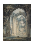 Transept of Tintern Abbey Giclee Print by J. M. W. Turner