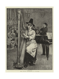 The Recent Eisteddfod at Swansea Giclee Print by John Robertson Reid